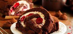 Gâteau roulé façon forêt noire1