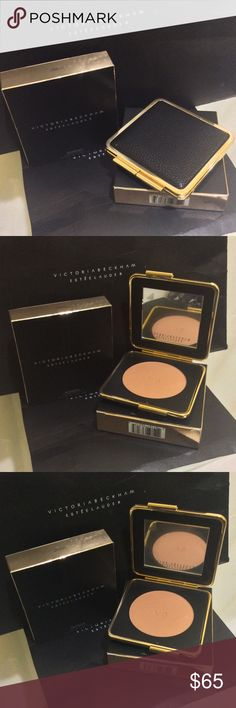 """Victoria Beckham x Estée Lauder Bronzer Java Sun This matte bronzer is as natural-looking as it gets, especially when worn beneath the cheekbones for definition. Can also be used all-over for a sun-kissed look.   Why Victoria loves Java Sun: """"Java Sun is perfect for medium-to-deep skin tones. It's my go-to bronzer shade for when I have a tan.""""   Why Victoria loves Saffron Sun: """"Saffron Sun is ideal for lighter skin tones and I use it when I want to add warmth and dimension to my skin."""" Made…"""