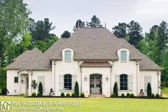House Plan Comes to life in Mississippi Acadian House Plans, Open House Plans, French Country House Plans, European House Plans, Southern House Plans, Cottage House Plans, Craftsman House Plans, Dream House Plans, French Country Exterior