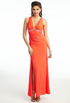 Jersey Sequin Prom Dress from Camille La Vie and Group USA