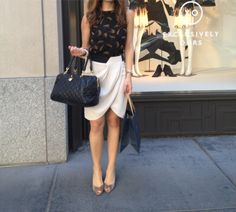 girlie ladylike work style, classy for sunday brunch outfit