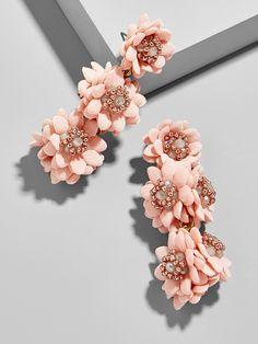 Yoshiko Flower Drop Earrings