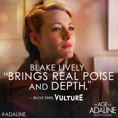 Fall in love with the stunning Blake Lively as #Adaline! Get your tickets today: lions.gt/adalinetix