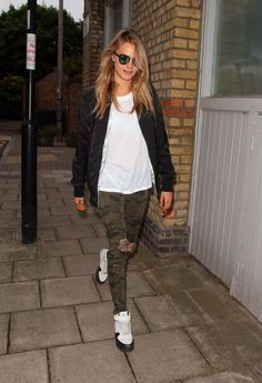 Out in London. See all of Cara Delevingne's best looks.