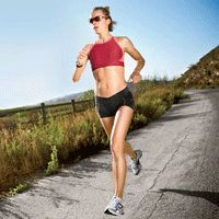 Run twice a day to get stronger and faster - sooner.
