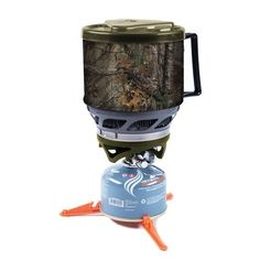 Image for Jetboil MiniMo Realtree Cooking System from Academy Hunting Cabin, Deer Hunting, Outdoor Stove, Camping Stove, Backpacking, Grilling, Kitchen Appliances, Cooking, Hunting Season