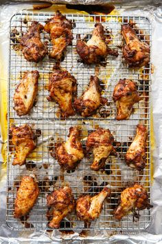 Looking for a spicy super bowl appetizer? These Sweet Tea-Brined Baked Hot Chicken Wings (Nashville-style) are a sure crowd pleaser... for those that like it hot!