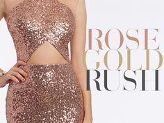 A Dose of Shimmer for Formal: Rose Gold Prom Dresses  Lately, rose gold has been all over the map.  Jewelry! Makeup! Kylie Jenner's hair!  And like the perfect sunset, we can't look away from this beautiful mesh of color.  The pink-meets-gold shade has been a mainstay trend of 2016 and is only getting hotter as we creep into the new year, which begs the question: should you sport this chic color combo on prom night?  And how?  Whether you've already tapped into the trend or are still…
