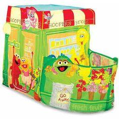 Playhut Sesame Street Hoopers Store Play Tent - Walmart.com
