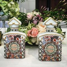 Guerlain + Arita Porcelain Lab Japan produce limited edition fine porcelain Mitsouko flasks. Gorgeous. Via Monsieur Guerlain on fb