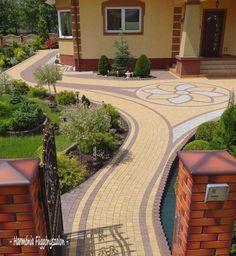 Backyard design layout porches Ideas for 2019 Backyard Swings, Backyard Canopy, Backyard Seating, Backyard Garden Design, Backyard Fences, Backyard Landscaping, Front Porch Landscape, Driveway Design, Landscape Design