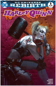 Harley Quinn #1 Bulletproof Comics Pink Variant. Click the pic and find out more...