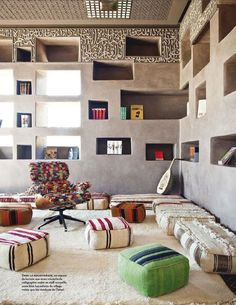 hôtel Fellah - relaxed place to read, lounge & make music
