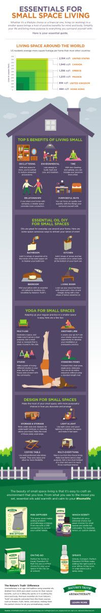Essentials for Small Space Living. Here is a cheat sheet for what you need to know on the minimalist lifestyle.