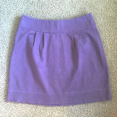 """Urban Outfitters Skirt This skirt is a beautiful lavender purple color and was only worn a handful of times! It cinches right at the waste and is loose fitting around the legs. Size 4 from Urban Oufitters - """"Silence & Noise"""" Urban Outfitters Skirts Midi"""