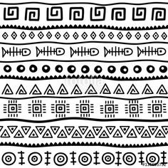 Pattern Drawing, Pattern Art, Pattern Design, Doodle Patterns, Zentangle Patterns, Ethnic Patterns, Mandala Drawing, Border Design, Native Art