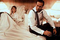 "mis actrices preferidas — Mia Farrow-William Hurt ""Alice"" 1990, de Woody... Rosalind Russell, Yvonne De Carlo, Veronica Lake, Mia Farrow, Sharon Tate, Woody Allen, William Hurt, It Hurts, Couple Photos"
