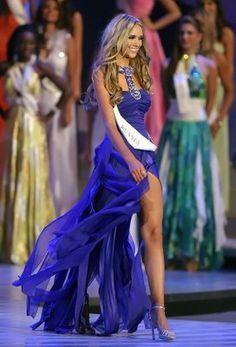 Image result for miss world blue dress