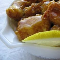 Chinese Lemon Chicken... better than take-out!