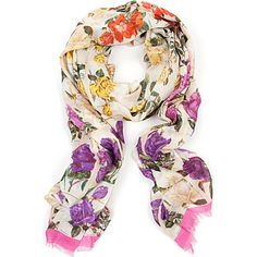TED BAKER Roses in a row scarf | Selfridges