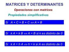 Teoria De Matrices Y Determinantes