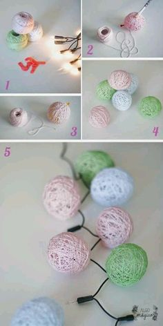 More than 10 ideas of super light crafts for Christmas - Christmas Crafts - Christmas . Home Crafts, Diy And Crafts, Crafts For Kids, Arts And Crafts, Kids Diy, Diy Y Manualidades, Art Diy, Navidad Diy, Creation Deco