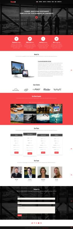 Free Bootstrap Responsive web template  Business Line is a unique multipurpose corporate website with elegant stylish look and multi-device compatibility responsive single page website build using Bootstrap HTML5 & CSS3. portfolio. #Bootstrap  #Bootstrap #FreeResponsiveWebsites #ResponsiveTemplates #HTML5Templates #FreeWeb #Responsive #webthemez #mobileWebsite #freeWebsite #HTML5
