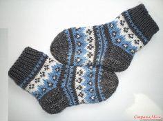 Crochet Socks, Knit Mittens, Knitting Socks, Knit Crochet, Kids Socks, Baby Socks, Knitting For Kids, Baby Knitting, Knitting Charts