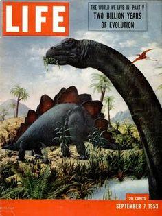 "Link to ""Early Interpretations of Prehistoric Life"" http://pinterest.com/amthomas73/early-interpretations-of-prehistoric-life/"