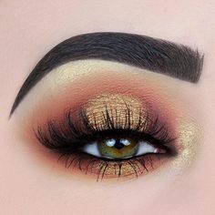 Gorgeous Makeup: Tips and Tricks With Eye Makeup and Eyeshadow – Makeup Design Ideas Makeup Goals, Makeup Inspo, Makeup Art, Beauty Makeup, Makeup Ideas, Gold Makeup, Makeup Blog, Makeup Tips, Golden Eye Makeup