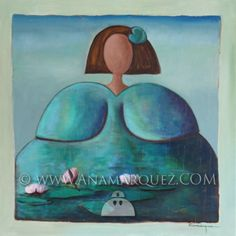 Meninas - Ana Márquez Spain, Crafts, Painting, Color, Ideas, Hipster Baby Girls, Sketches, Sculptures, Manualidades