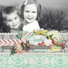One big photo #scrapbook #layout #simple