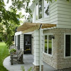 Bump Out Addition Cantilevered   Found on houzz.com