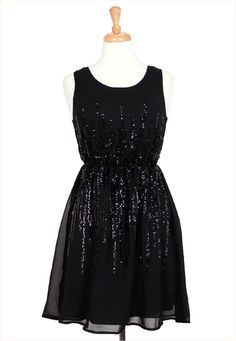 Wear for a shiny night out on the town.    #holiday #dress #newyears #sequins