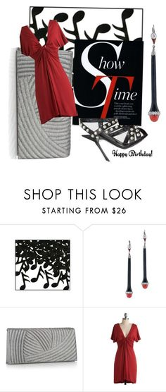 """""""Happy Birthday Buttercup08!"""" by aclaire ❤ liked on Polyvore featuring Music Notes, Debut, antique earrings, modcloth.com and buttercup08"""