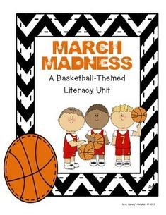 This 61 page unit covers many ELA skills while using a fun basketball theme to engage students.  Topics include:Spelling List - Compound Words, Fact & Opinion Game, Prepositions, Vocabulary Activities, Activities to help Identify and Analyze Characters, Writing Activities, Comparing and Contrasting, Identifying Author's Purpose, Sequencing, Using Evidence from the Text in Writing, Responding to Literature and much much more!
