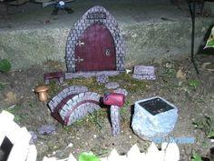 Fairy Door Garden Kit Custom Order Hobbit's Elve's And Gnome's | eBay