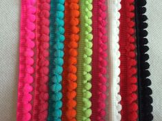 10mm Width Pom Pom Trim Ball Fringe Ribbon DIY Sewing Accessory Lace 2yards/lot-in Lace from Home & Garden on Aliexpress.com | Alibaba Group
