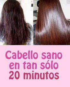 Cabello sano en tan sólo 20 minutos #cabello #revivir #mascarilla