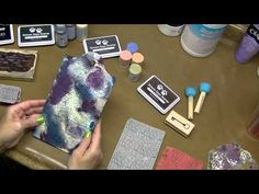 Tutorial: Mixed Media Video #2, Stamping with Ink and Paint - YouTube