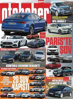 Tam 20 tane SUV'un kıyasıya mücadelesi, Paris otomobil fuarından haberler, test köşesinde Kia Cerato, Opelin ufak SUV'u Mokka X... Otohaber Dergisi Ekim sayısı yayında...