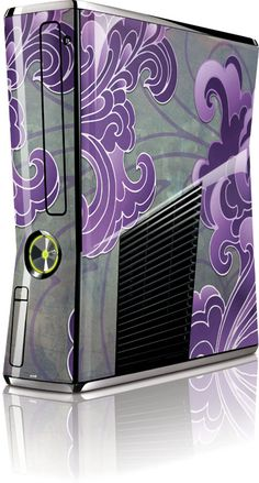Purple Flourish skin for xbox Xbox Xbox, Xbox Controller, Playstation, Custom Consoles, Xbox 360 Console, Gaming Tips, Gamer Room, Xbox Games, Gaming Computer