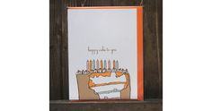 the nic studio: wedding invitations, stationery, and illustration from brooklyn, ny » the linear collection: birthday