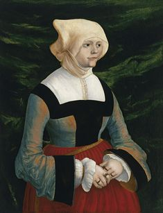 Portrait of a Young Woman, c. 1522? // by Albrecht Altdorfer, Colección Thyssen-Bornemisza, Madrid