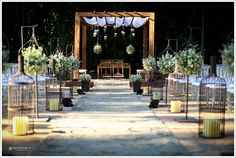 5 Casamento no campo blog de noivas heidy gasperine altar ar livre