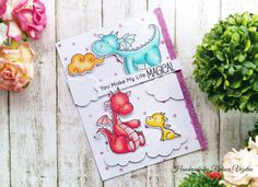 Magical Dragons - MFT Stamps | by ralucky_noajba