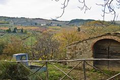 Montefioralle view in Tuscany, Italy.  Shot by Julie Richards