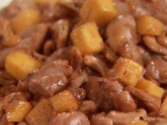 Honeyed Mango and Chicken Saute with Toasted Cashews recipe from Aida Mollenkamp via Food Network