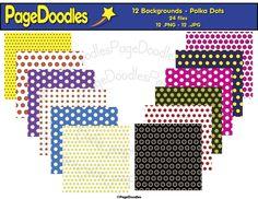 PageDoodles.com_Backgrounds_Polka Dots