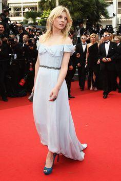 Clémence Poésy (in YSL Soir at the Cannes Film Festival 2011).